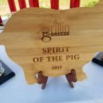 spirit of the pig award
